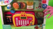 McDonalds Toy Cash Register Pretend Play Set for Children