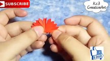 - How to make Small Flowers with Paper ,  Very easy simple paper flower ,  DIY Paper CraftCredit  Ks3 CreativeArtFull video