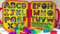 TELETUBBIES Seseme Street ABC Letter Case Toy!