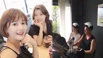 [Showbiz Korea] Today's StarPic! Nam Bo-ra(남보라) & Ha Ji-won(하지원)