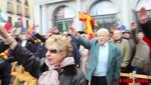 Plaza de Oriente Cara al Sol e Himno Nacional 20 11 new