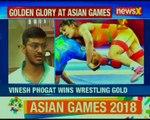 Asian Games 2018: Vinesh Phogat wins Gold; Saurabh Chaudhary bags Gold