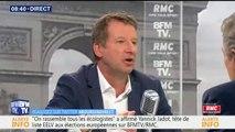 """""""Il y a l'écologie de l'affichage et celle du courage"""" dénonce Yannick Jadot à propos de la politique du gouvernement"""