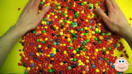 Learn To Count 1 to 20 with Candy Numbers! Surprise Eggs with Smarties Skittles and Candy