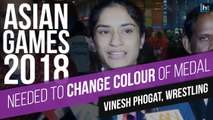 'Needed to change colour of medal,' says Vinesh Phogat after Asian Games gold