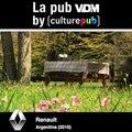 Aujourd'hui, c'est la #PubVDM by Culture Pub : #RenaultVoilà un beau couple qui joue avec Kévin, des images magiques, on vous laisse profiter