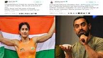 Aamir Khan, Akshay Kumar & B-Town congratulate Vinesh Phogat for Gold at Asian Games 2018 |FilmiBeat