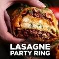 Dieser Lasagne-Partyring ist so geil, der verdient seine eigene Party. Das ganze Rezept gibt es hier:  [Angebot von BuzzFeed] Das Tasty-Kochbuch gibt es jetzt