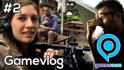 GameVlog Gamescom 2018 #2 : Le travail commence !