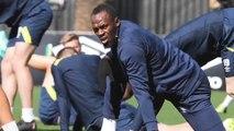 Les premières images d'Usain Bolt à l'entraînement en Australie