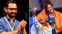 Aamir Khan Congratulate Vinesh Phogat For Winning Gold in 2018 Asian Games
