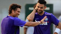 India V/S England 3rd Test: Virat Kohli Reaches Sachin Tendulkar's Record