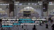 Début du pélerinage annuel de La Mecque, deux millions de musulmans attendus