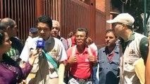 Trabajadores del Instituto Nacional de Tierras y del Instituto Nacional de Salud Agrícola Integral marchan a Miraflores para entregar propuestas y hacen denunci