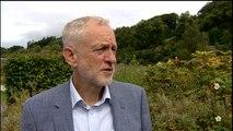 Corbyn 'frightened' at idea of stockpiling medicines