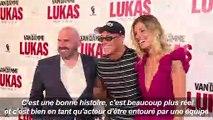 """Jean-Claude Van Damme présente son dernier film """"Lukas"""" à Paris"""