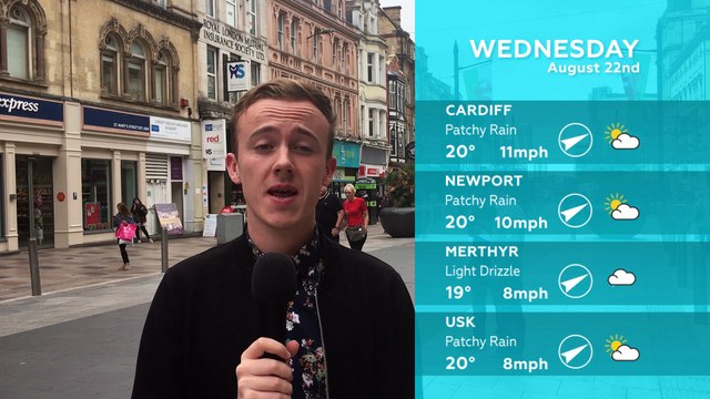 WEATHER: August 22nd 2018