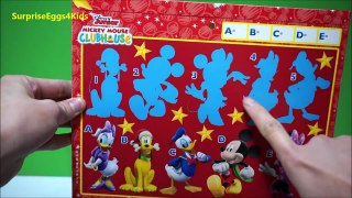 TOP Mickey Mouse Club House Advent Calendar 1 to 24 day opening lot of Surprises