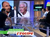 Dugarry vs Deschamps - Foot - Bleus