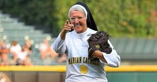 Nun Throws Perfect Strike With First Pitch At MLB Game