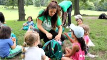 Outdoor summer camp in New York City provides green space for city kids