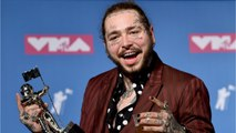 Post Malone Plane Lands Safely After Blown Tires