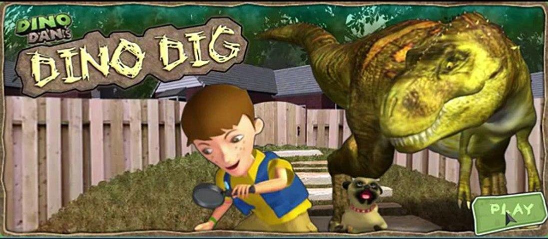 Dino Dans Dino Dig nick jr Children Games Video yourchannelkids