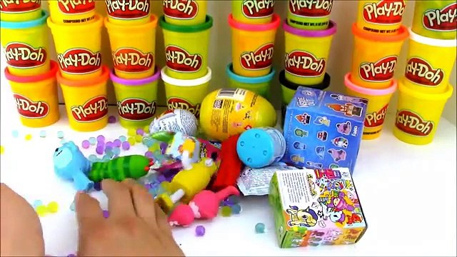 Yo Gabba Gabba Play Doh Surprise Egg with Orbeez and Toys
