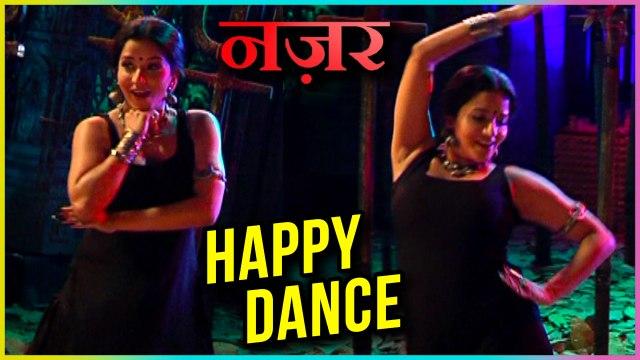 Monalisa aka Daayan HAPPY DANCE For Ansh And Ruby WEDDING | Nazar