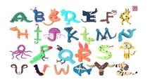 Play Doh Abc | ABC Phonics Song | Playdoh Animals | Playdoh Alphabets and animals
