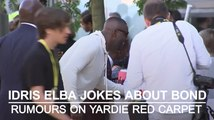 Idris Elba jokes about Bond rumours on Yardie red carpet