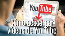 Cómo descargar vídeos de YouTube