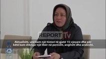 Iraniania që kërkohet nga babai flet në Report TV: Nuk më ka rrëmbyer njeri, në kamp rri me dëshirë