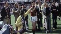 A true legend, forever our #⚫Happy birthday, Gianni Rivera! Leggenda di un calcio che non c'è più, eterno numero ⚫Buon compleanno, Gianni Rivera!