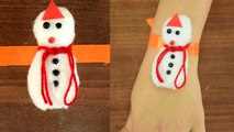 Raksha Bandhan: Rakhi for Kids DIY   Snowman Rakhi From Cotton   बच्चों के लिए बनाएं राखी   Boldsky