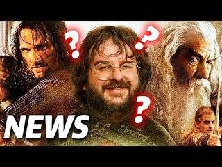 Peter Jackson macht HERR DER RINGE Serie für Amazon?   FILM NEWS
