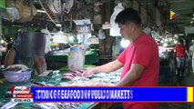 BFAR assures inspection of seafood in public markets