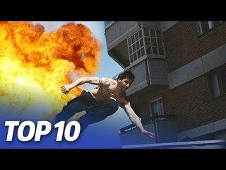 Die 10 KRASSESTEN Filmstunts!   COUNTDOWN