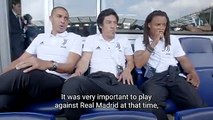 #JuventusLegend's David Trezeguet, Mauro Camoranesi & Edgar Davids share their experiences of playing against Real Madrid C.F. ⚽️#CONTAJUS #ForzaJuve