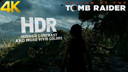 Trailer - Shadow of the Tomb Raider - Claque Graphique sous Nvidia RTX en 4K 60FPS !