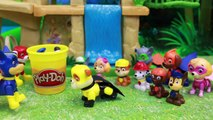 Paw Patrol Super Pups Baby Play Doh Rescue with Chase and Marshall and Robo Dog Super Pups