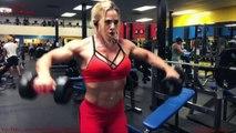 Dana Shemesh Hot Israeli Muscular Woman - Killer Back and Shoulders Workout.
