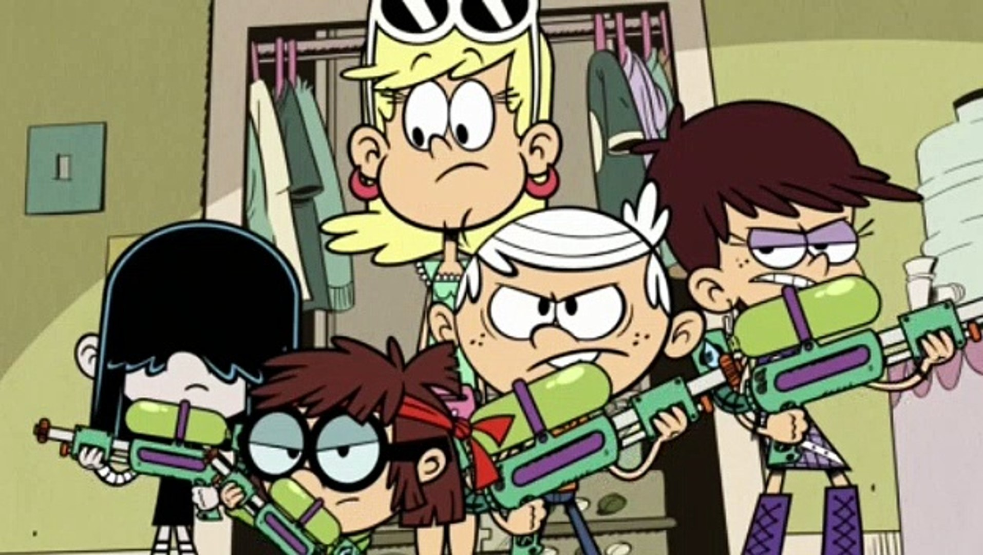 The Loud House S01E50 One Flu Over the Loud House
