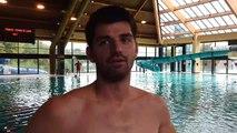Florent Sutherland, Tournaisien de 24 ans, s'entraîne pour faire la traversée de la Manche à la nage