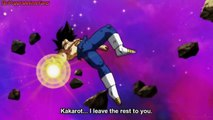 Vegeta Eliminated, Gokus Ultra Instinct Again, Finally Vegeta Gives His Energy To Goku,Go