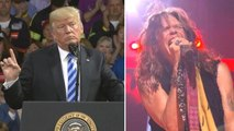 Steven Tyler Orders Trump to Stop Playing Aerosmith Music at His Rallies