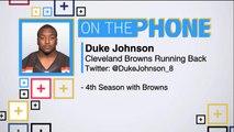 Tiki and Tierney: Duke Johnson talks Browns preseason