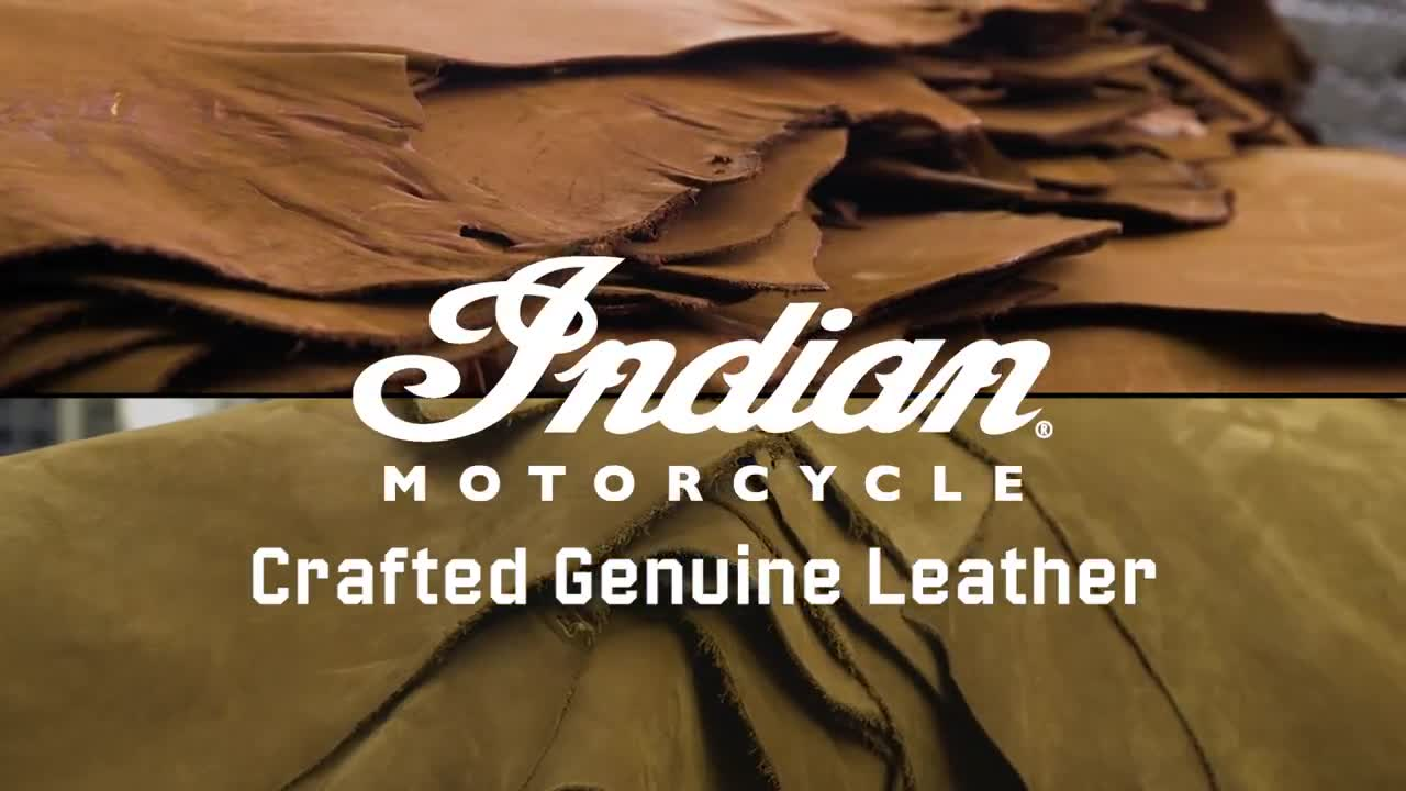 Crafted Genuine Leather – Indian Motorcycle