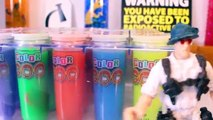 JURASSIC WORLD DINOSAURS Toys 5: Science Lab Dinosaur Creation Experiments Video for Kids