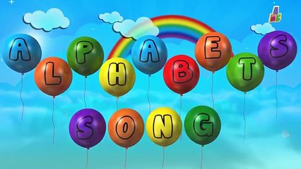 ABC Song   Alphabets on Balloons   Alphabets song   Learn Alphabets